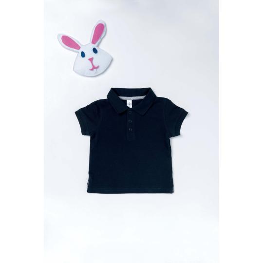 Polo de bebé manga curta Kariban®