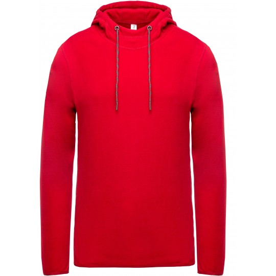 Sweatshirt micropolar com capuz