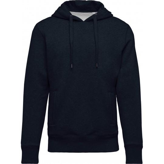 Sweatshirt BIO de homem com capuz