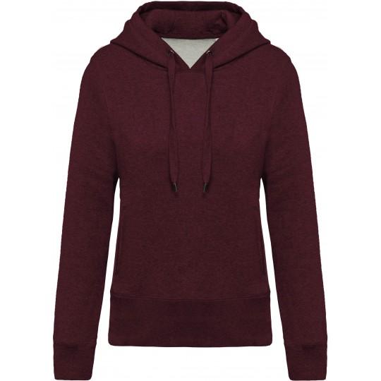 Sweatshirt BIO de senhora com capuz