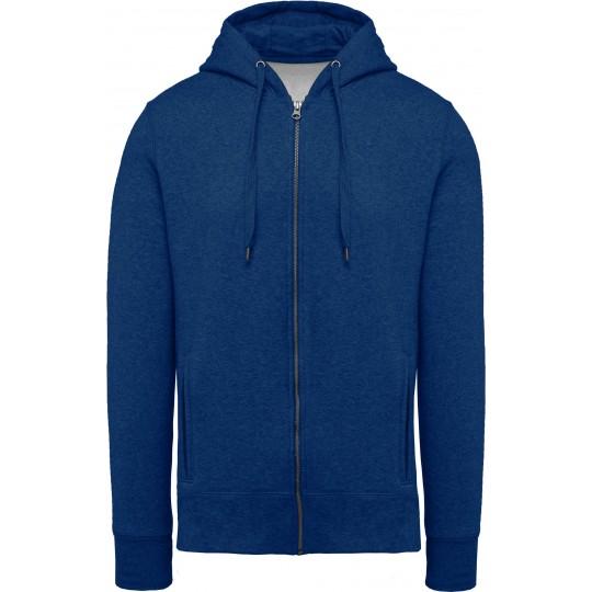 Casaco sweatshirt BIO de homem com capuz