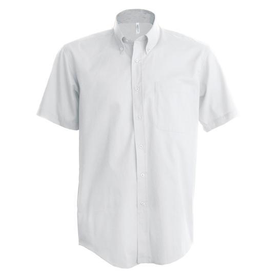 Camisa manga curta em oxford Kariban®