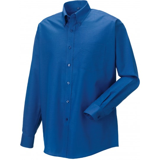 Camisa oxford de homem de manga comprida