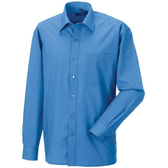 Camisa de homem em popeline de manga comprida Russell®