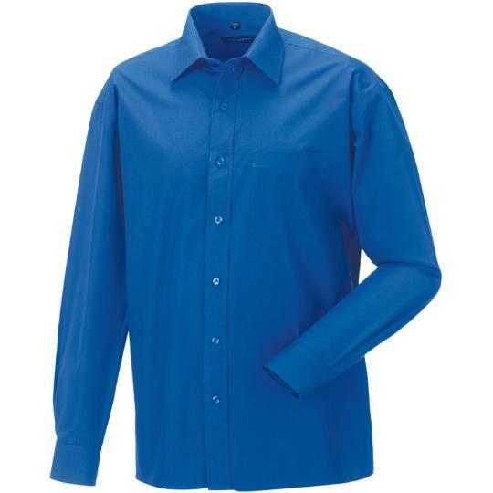 Camisa de homem de manga comprida em popeline Russell®