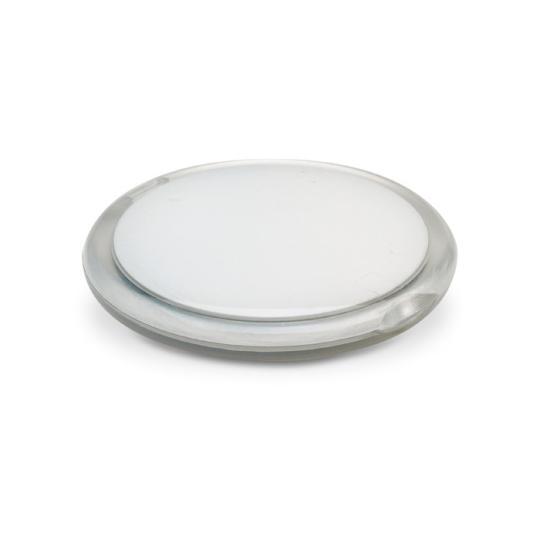 Espelho duplo de forma redonda