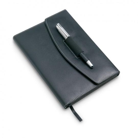 Porta documentos esferográfica