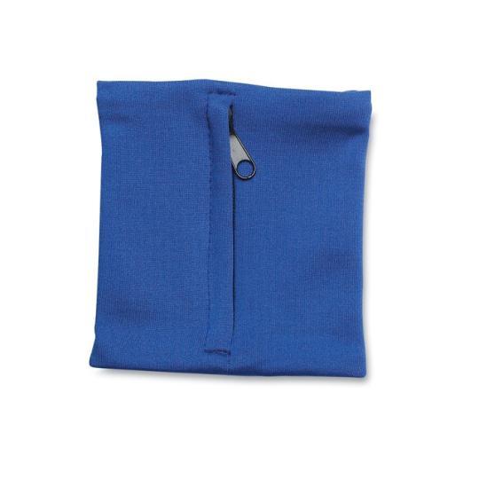Pulseira elástica com bolso