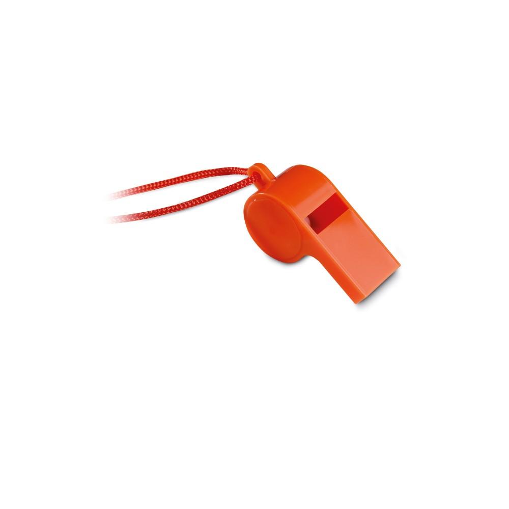 a7a41ee1f4 Apito com cordão de segurança - Brindes Publicitários e Promocionais ...