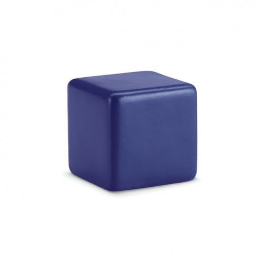 Anti-stress PU forma cubo