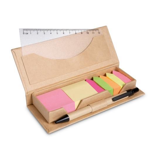 Set escritório caixa cartão