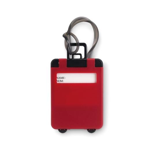 Etiqueta de bagagem plastico
