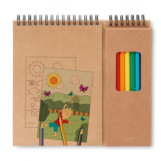 Set para colorir
