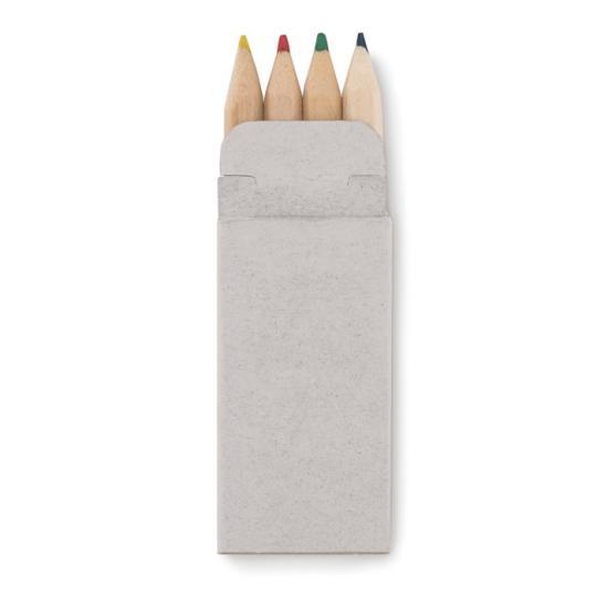 Mini Set 4 lápis de cor Petit Abigail