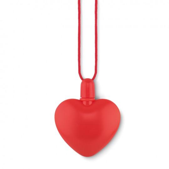 Soprador bolhas forma coração