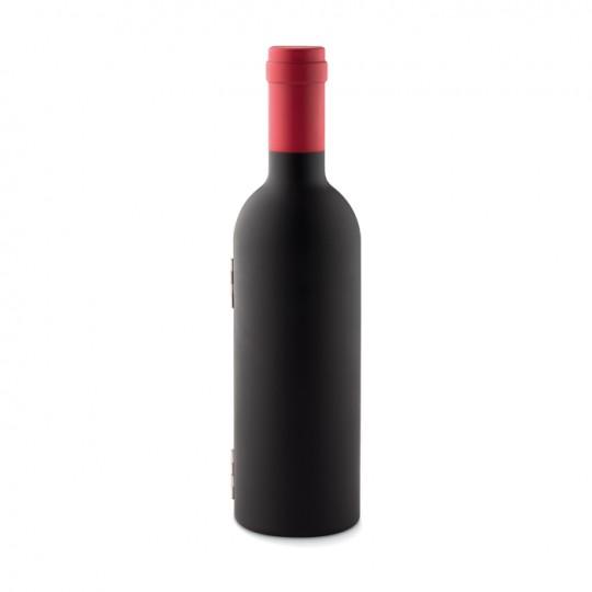 Set de vinho com garrafa