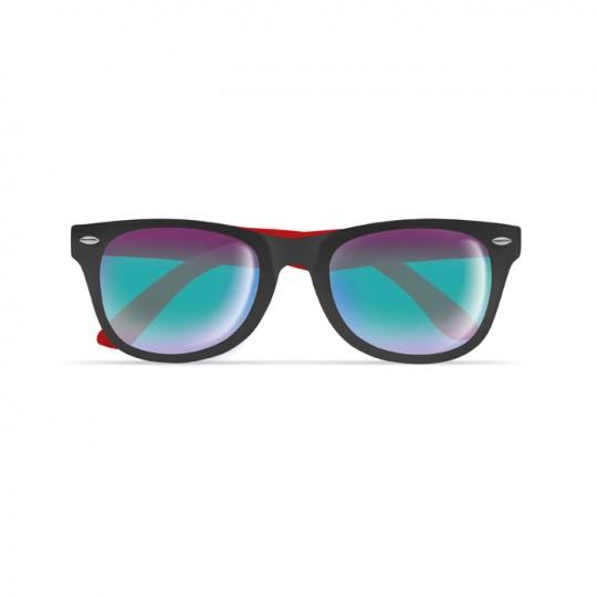 Óculos de sol bicolores