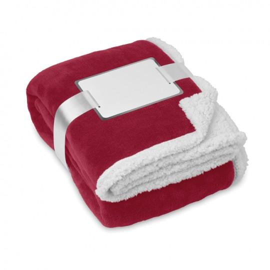 Cobertor, velo coral / sherpa