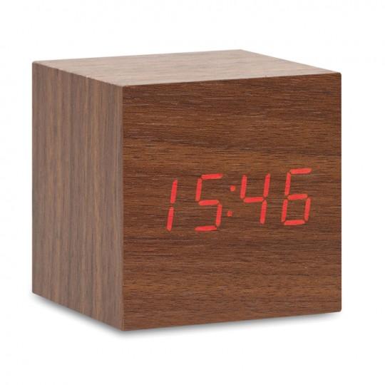 Relógio LED em MDF