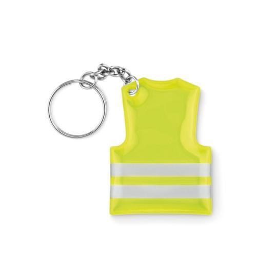 Porta-chaves jaleco refletante