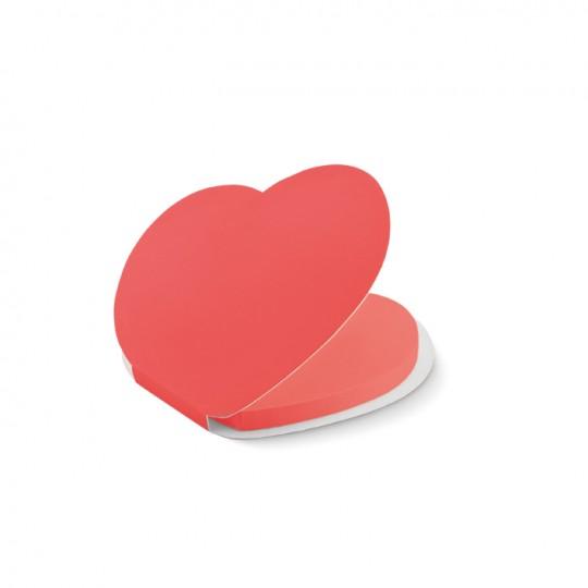 Notas Adesivas coração