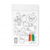 Imans adesivos para colorir