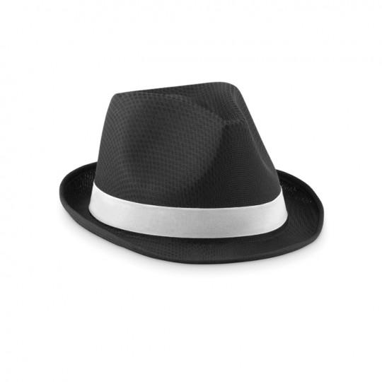 Chapéu de palha colorido
