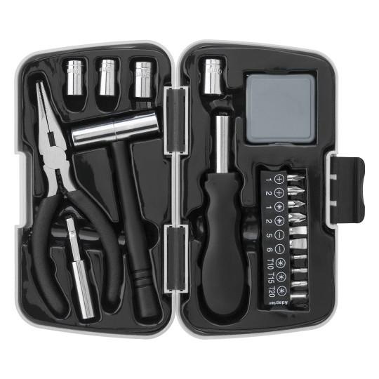 Caixa com 26 ferramentas