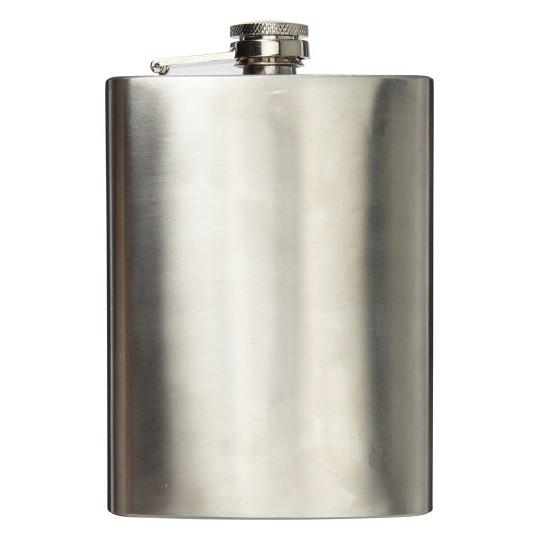 Garrafa de bolso de aço inoxidável (240 ml)