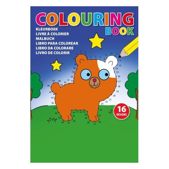 Livro infantil para pintar Kid Color