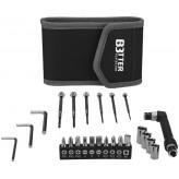 """Conjunto de ferramentas com bolsa de 24 peças """"Pockets"""" Stac®"""