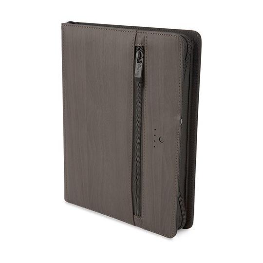 """Agenda """"Financieira"""" A5 com USB e powerbank 5000 mAh Pierre Delone"""