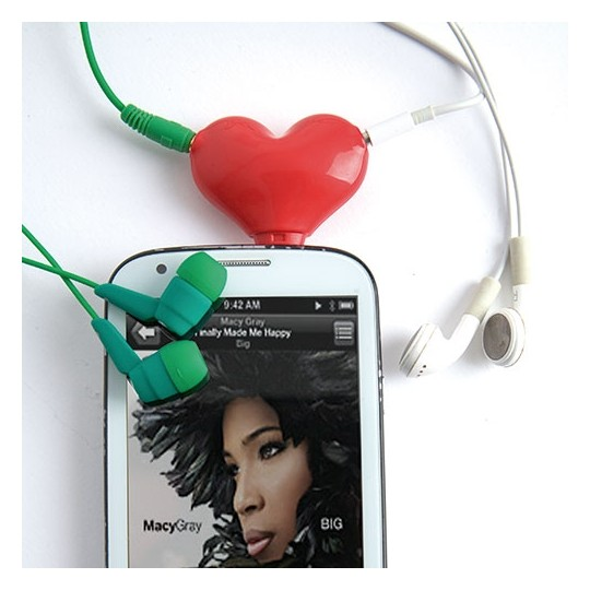 Adaptador para auriculares Duo Mode