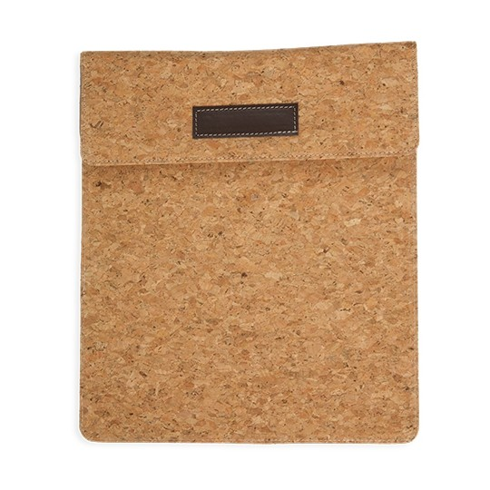 Capa para tablet de cortiça