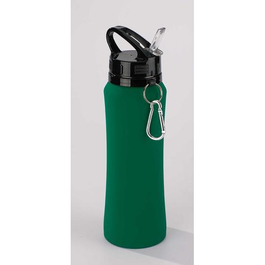 Garrafa de água com gancho de metal 700 ml