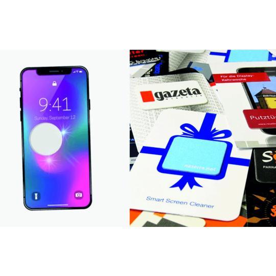 Microfibras para ecrãs de telemóveis