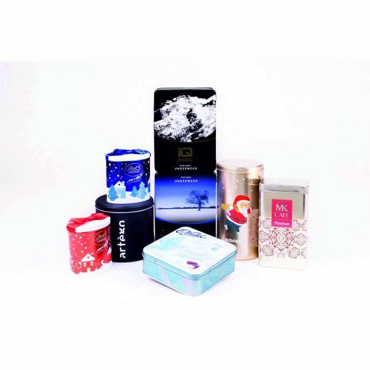 Embalagens metálicas