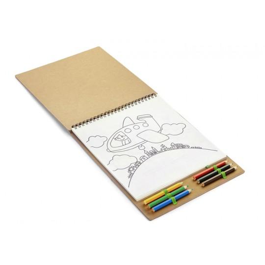 Livro de colorir MALOVI