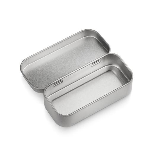 Caixa de lata pequena para USB