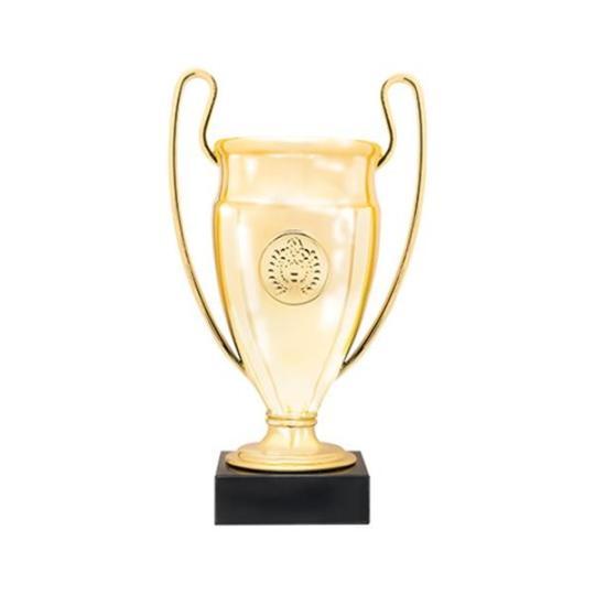 Troféu em plástico