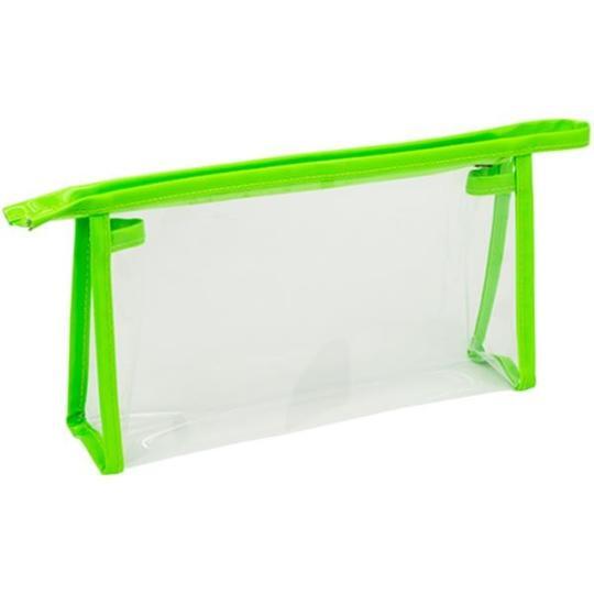 Necessaire em PVC transparente