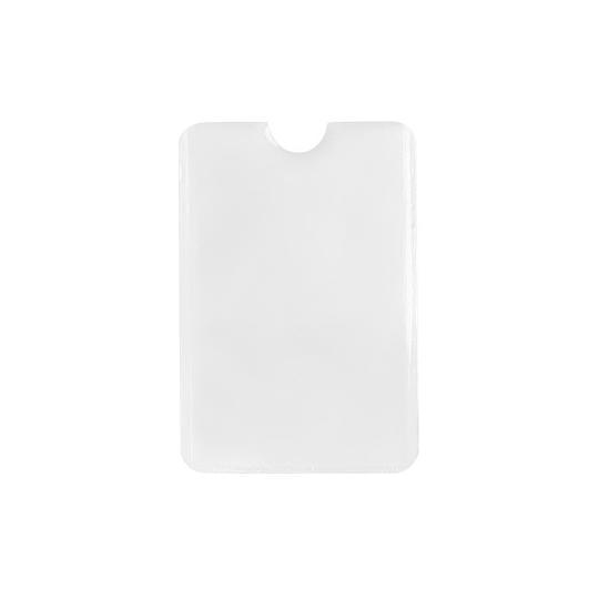 Porta-cartão em alumínio