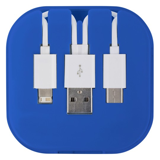 Conjunto de cabos de carregamento USB