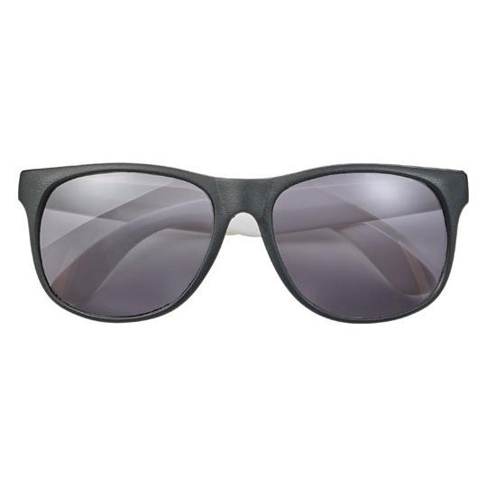 Óculos de sol em PP com armação colorida