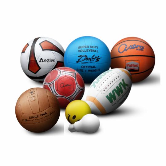 Bolas de desporto personalizadas