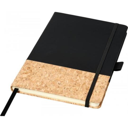 """Bloco de notas A5 de PU e cortiça """"Evora"""" Journal Books"""