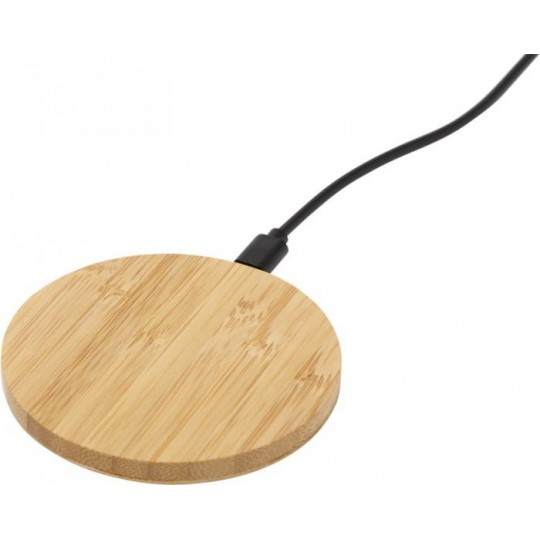 """Base de carregamento sem fio de bambu """"Essence"""""""