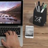 """Carregador de caixa de lápis retroiluminado """"SCX.design® O10"""