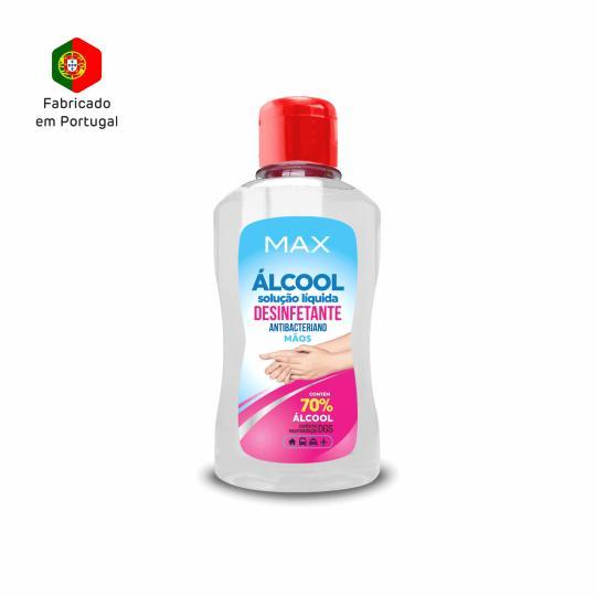 Álcool Solução Liquida Desinfetante 125 ml Max