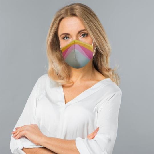 Máscara social personalizáveis Custom Duck